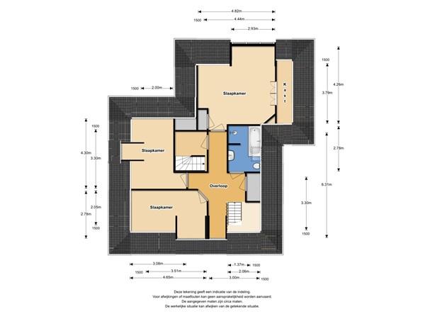 Floorplan - Zwaagdijk 58, 1683 NK Zwaagdijk-Oost