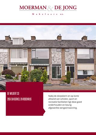 Brochure preview - De Wildert 33, 2651 EM BERKEL EN RODENRIJS (2)