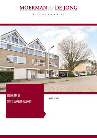 Brochure preview - Lindenlaan 36, 2651 TK BERKEL EN RODENRIJS (2)