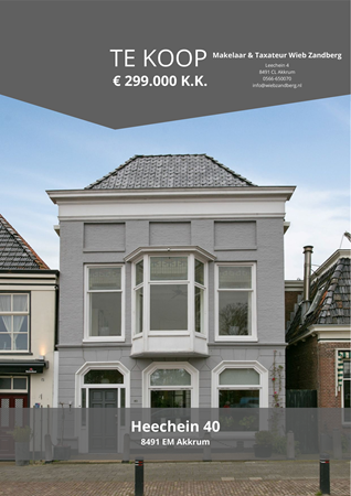 Brochure preview - Heechein 40, 8491 EM AKKRUM (1)