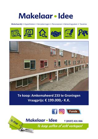 Brochure preview - Woningbrochure Amkemaheerd 233 Groningen.pdf