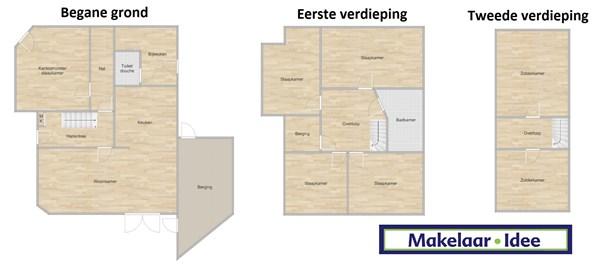 Floorplan - Eemsstraat 1, 9673 AR Winschoten