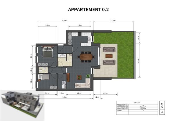 Floorplan - Neerveldstraat 2-0.2, 3630 Maasmechelen
