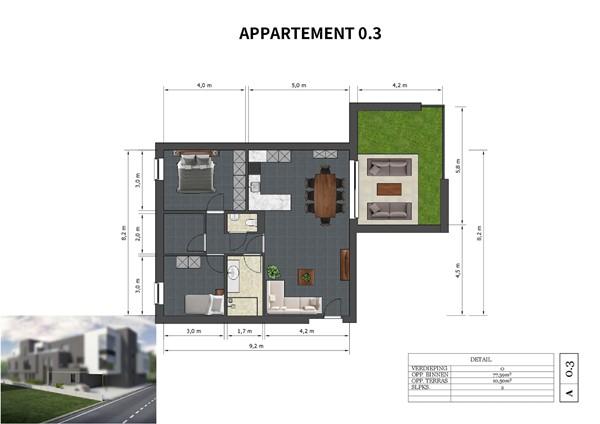 Floorplan - Neerveldstraat 2-0.3, 3630 Maasmechelen