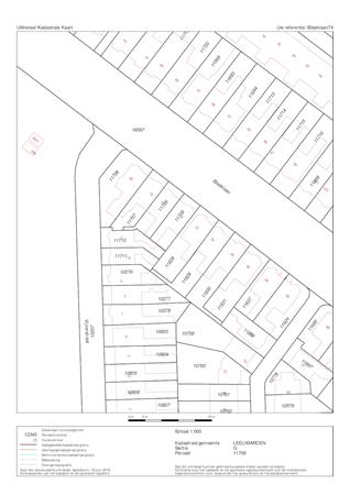 Floorplan - Bleeklaan 74, 8921 HD Leeuwarden