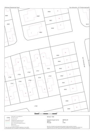 Floorplan - J.A. Fokkemastraat 33, 9257 WL Noardburgum