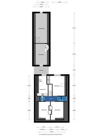 Floorplan - Rijksweg 116, 9011 VH Jirnsum