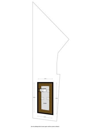 Floorplan - Grote Kerkstraat 10, 8911 EC Leeuwarden
