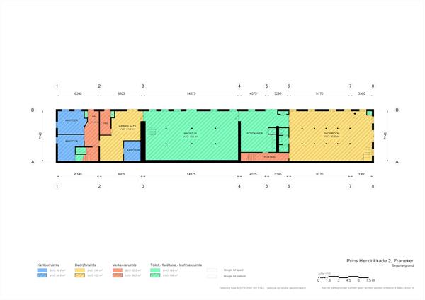 Floorplan - Prins Hendrikkade 2, 8801 JK Franeker