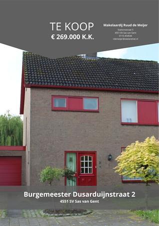 Brochure preview - Burgemeester Dusarduijnstraat 2, 4551 SV SAS VAN GENT (1)