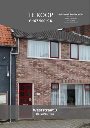 Brochure preview - Weststraat 3, 4521 AW BIERVLIET (2)