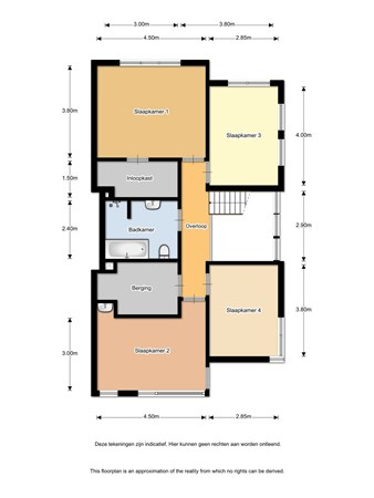 Floorplan - Wijttenbachweg 4A, 2341 VW Oegstgeest