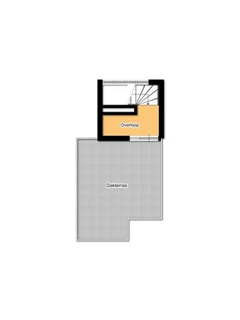 Floorplan - Weddesteeg 27, 2311 VX Leiden