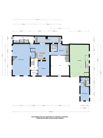 Floorplan - Maasstraat 6, 6019 BB Wessem