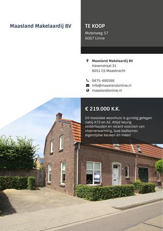 Brochure preview - Molenweg 57, 6067 LINNE (2)