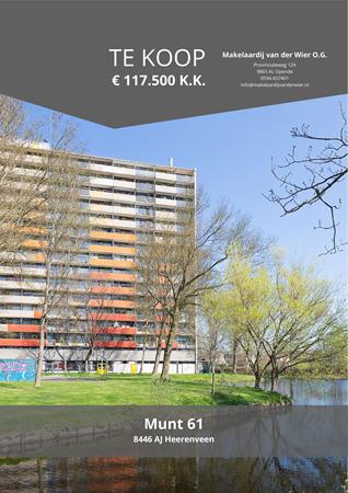 Brochure preview - Munt 61, 8446 AJ HEERENVEEN (1)