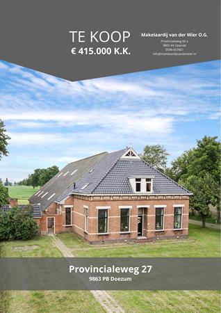 Brochure preview - Provincialeweg 27, 9863 PB DOEZUM (1)