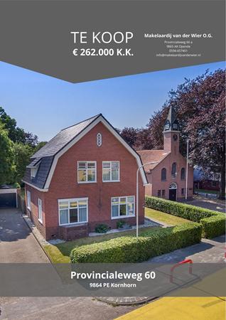 Brochure preview - Provincialeweg 60, 9864 PE KORNHORN (1)