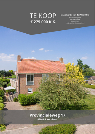 Brochure preview - Provincialeweg 17, 9864 PA KORNHORN (1)