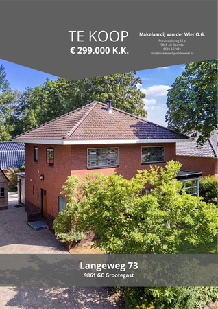Brochure preview - Langeweg 73, 9861 GC GROOTEGAST (1)