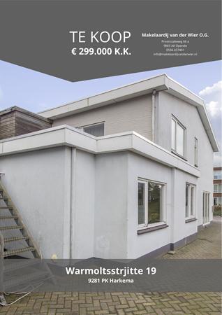 Brochure preview - Warmoltsstrjitte 19, 9281 PK HARKEMA (1)
