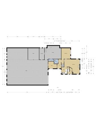 Floorplan - P W Janssenweg 90, 8411 XV Jubbega
