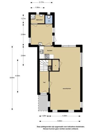 Floorplan - Herenweg 8, 8536 TM Oosterzee