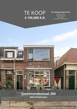 Brochure preview - Ijsselmondselaan 284, 3064 AV ROTTERDAM (1)