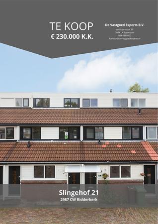 Brochure preview - Slingehof 21, 2987 CW RIDDERKERK (1)