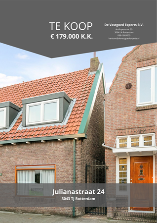 Brochure preview - Julianastraat 24, 3043 TJ ROTTERDAM (1)