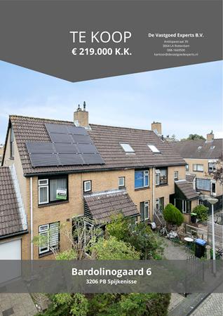 Brochure preview - Bardolinogaard 6, 3206 PB SPIJKENISSE (1)