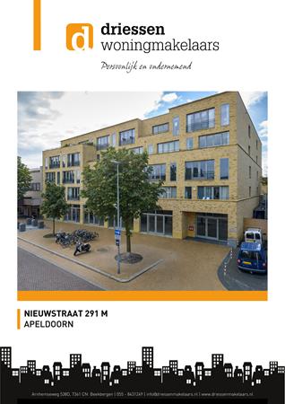 Brochure -  - Nieuwstraat 291m, 7311 BP Apeldoorn