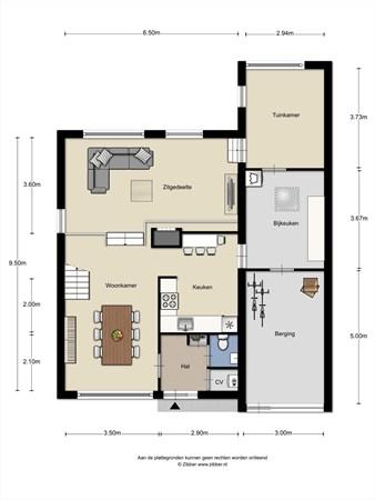 Floorplan - Wersakker 13, 5731 KD Mierlo