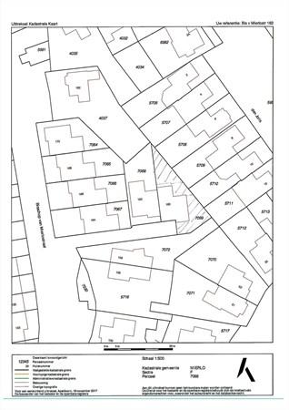 Floorplan - Bisschop van Mierlostraat 160, 5731 GJ Mierlo