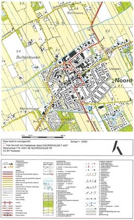 Floorplan - Weemstraat 17A, 8391 AE Noordwolde