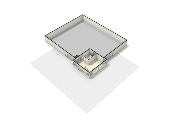 Floorplan - Grindweg 129, 8471 EJ Wolvega