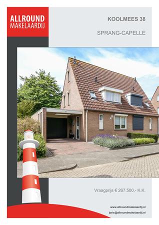 Brochure preview - Koolmees 38, 5161 SZ SPRANG-CAPELLE (1)