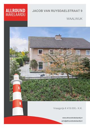 Brochure preview - Jacob Van Ruysdaelstraat 9, 5143 GL WAALWIJK (1)