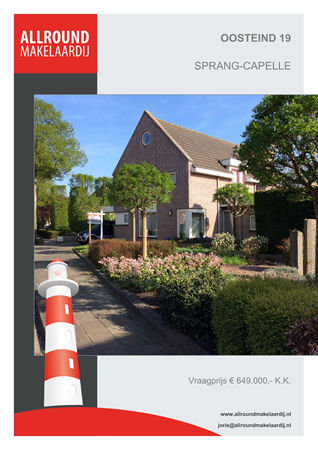 Brochure preview - Oosteind 19, 5161 MG SPRANG-CAPELLE (1)