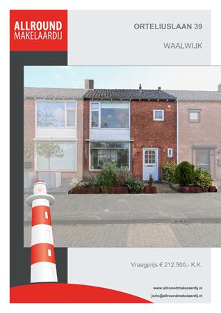 Brochure preview - Orteliuslaan 39, 5141 AX WAALWIJK (1)