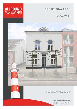 Brochure preview - Grotestraat 95-B, 5141 JN WAALWIJK (1)