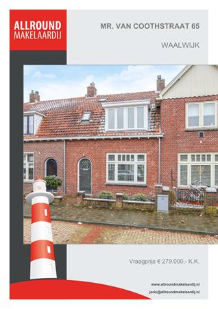 Brochure preview - Mr. Van Coothstraat 65, 5141 ER WAALWIJK (1)