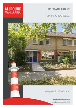 Brochure preview - Mesdaglaan 27, 5161 VB SPRANG-CAPELLE (1)