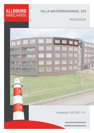 Brochure preview - Villa Waterranonkel 522, 5146 AS WAALWIJK (1)