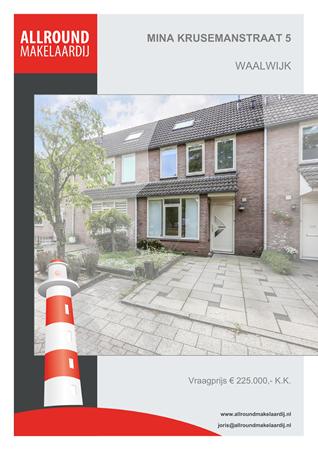 Brochure preview - Mina Krusemanstraat 5, 5142 PS WAALWIJK (1)