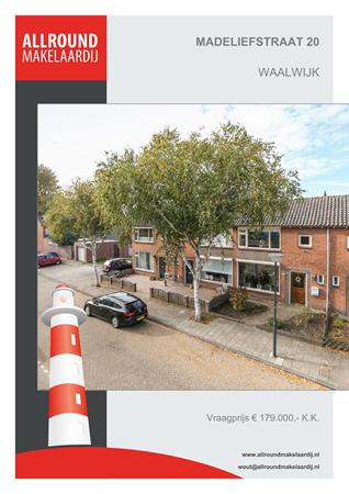 Brochure preview - Madeliefstraat 20, 5143 AM WAALWIJK (1)