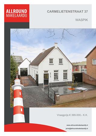 Brochure preview - Carmelietenstraat 37, 5165 AJ WASPIK (1)