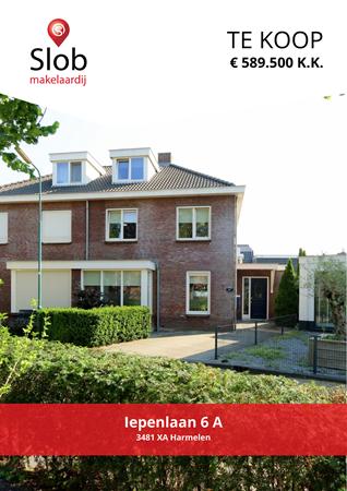 Brochure preview - Iepenlaan 6-A, 3481 XA HARMELEN (1)
