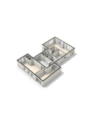 Floorplan - Wagnerstraat 1, 6566 DK Millingen aan de Rijn