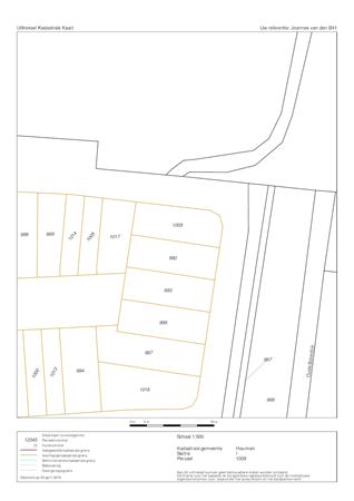 Floorplan - Joannes Van Den Broekstraat 41, 6582 ED Heumen